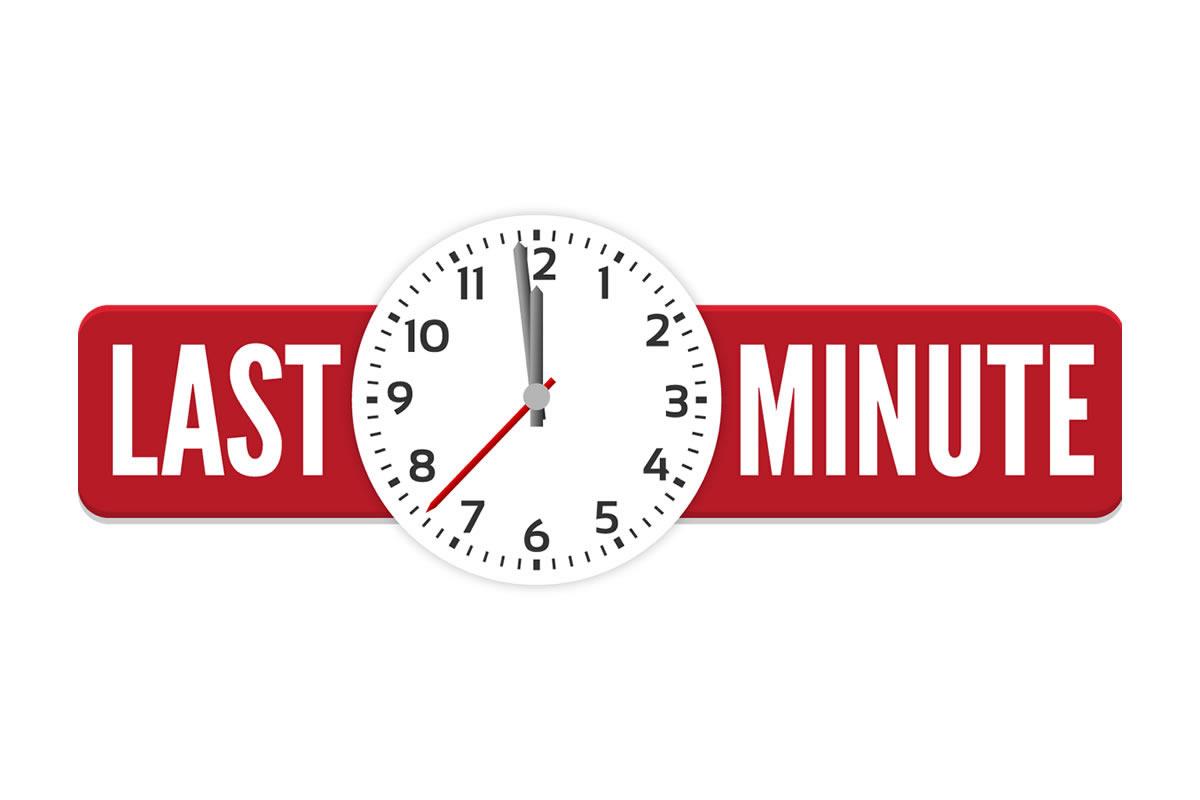 LAST MINUTE RATES
